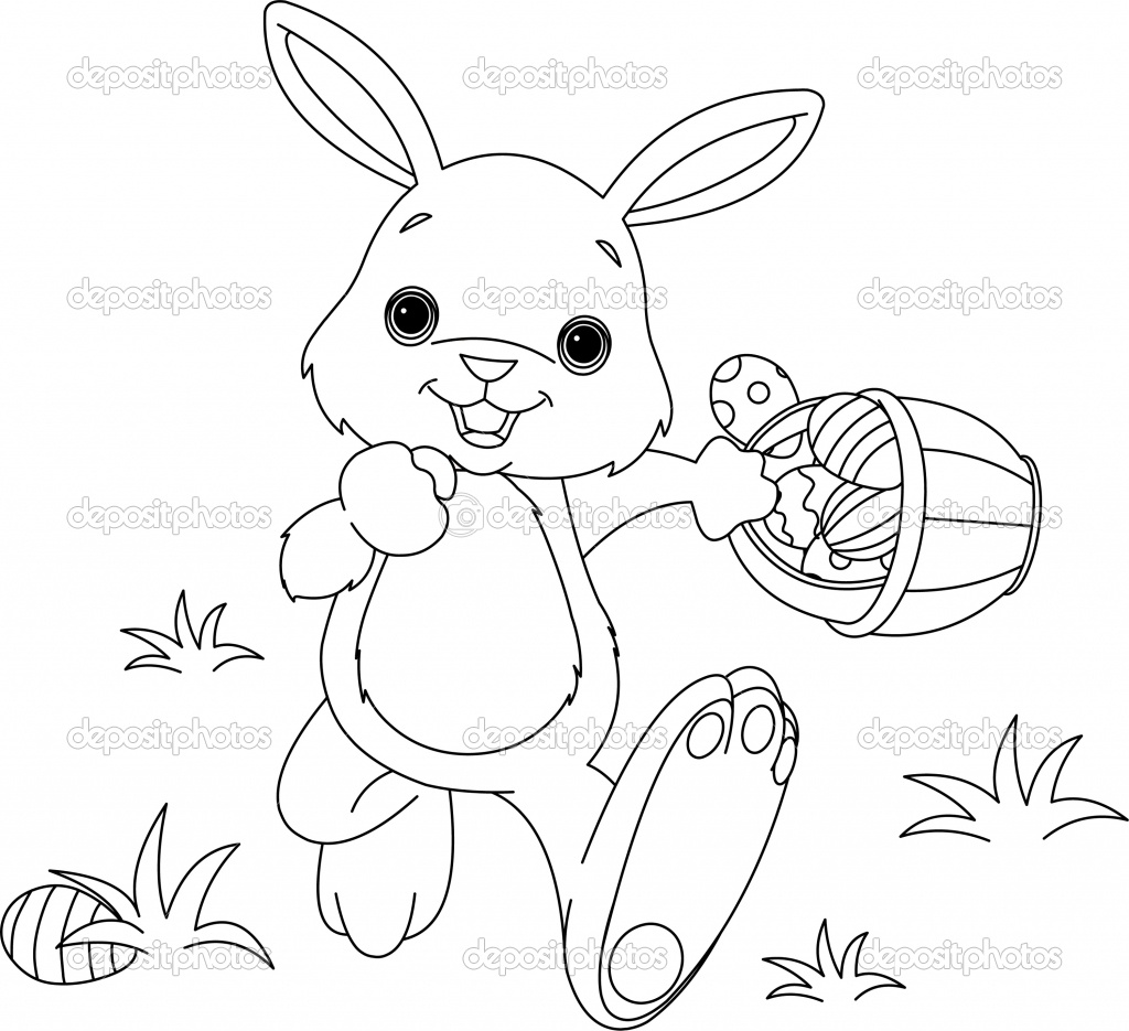 Coloring pages bunny - Source Funmozarcom Report Easter Bunny Coloring Page Dating