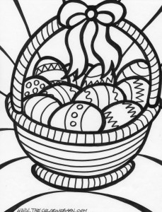 Easter Eggs Coloring Pages 14 229×300