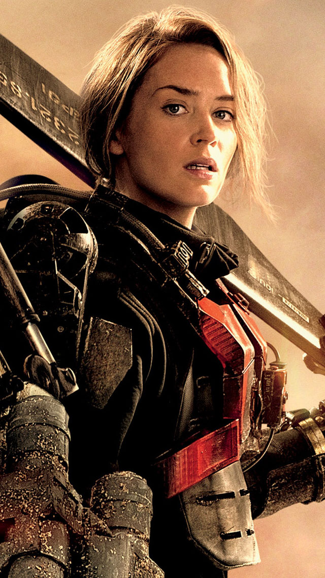 Edge Of Tomorrow Wallpaper Emily Blunt 6