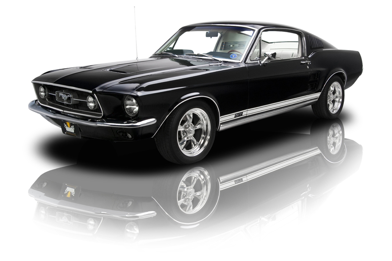 Ford Mustang 1967 Black 2
