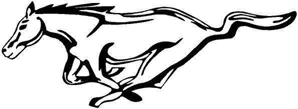 ford mustang horse logo sketch coloring page. Black Bedroom Furniture Sets. Home Design Ideas