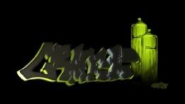 Green 3d Graffiti Wallpapers 6 300×170