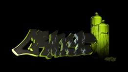 Green 3d Graffiti Wallpapers 61
