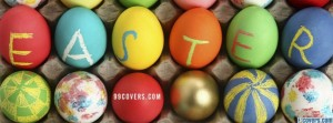 Happy Easter Facebook Banner 14 300×111