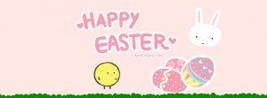 Happy Easter Facebook Banner 16 300×111