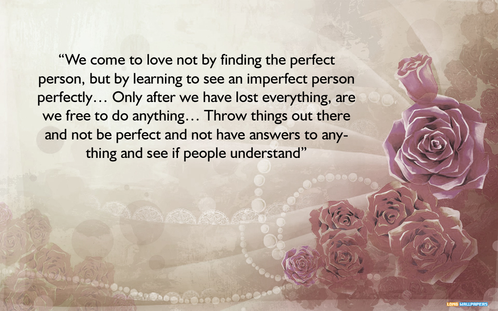 3d Quotes About Love : Inspirational Love Quotes Wallpaper. QuotesGram