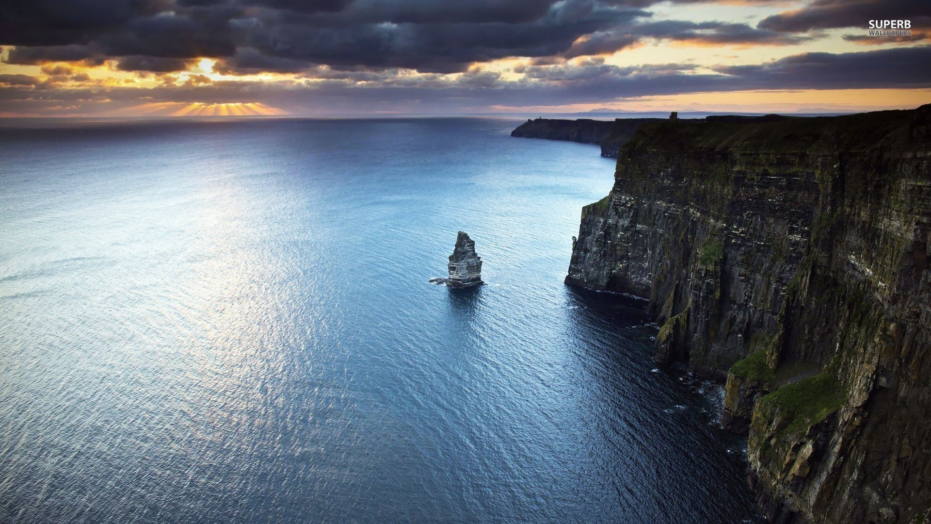 Ireland Cliffs Wallpaper 3