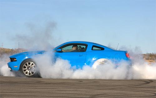 Mustang Burnout 7