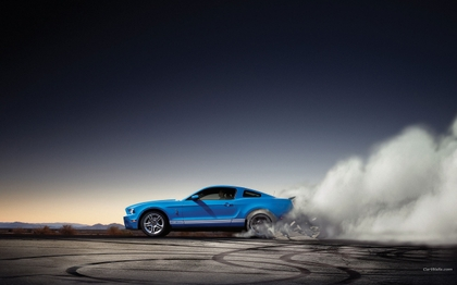 Mustang Burnout Hd 7