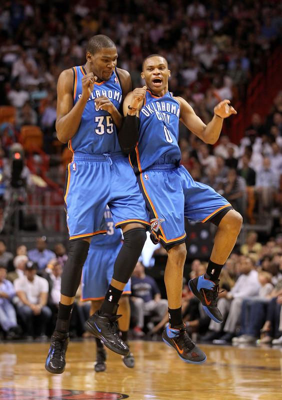 Russell Westbrook  Kevin Durant And Russell Westbrook Wallpaper