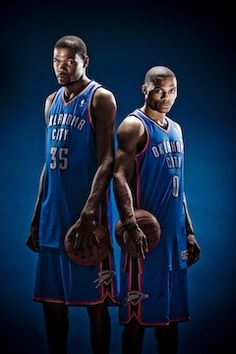 Russell Westbrook And Kevin Kevin Durant And Russell Westbrook Wallpaper