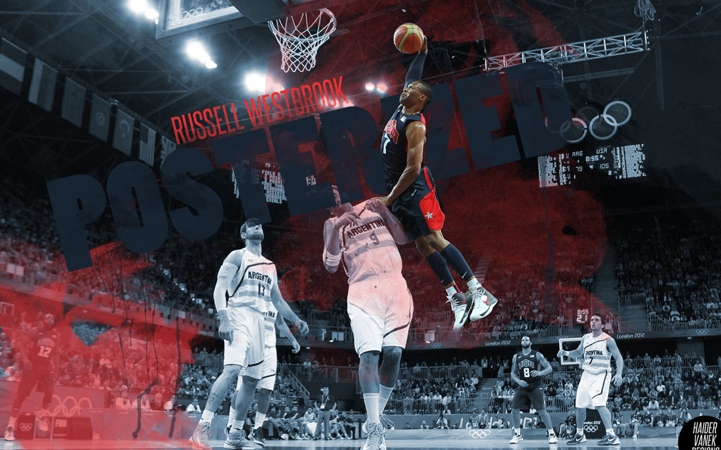 Russell Westbrook Dunk Wallpaper 19