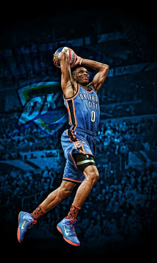 Russell Westbrook Dunk Wallpaper 9