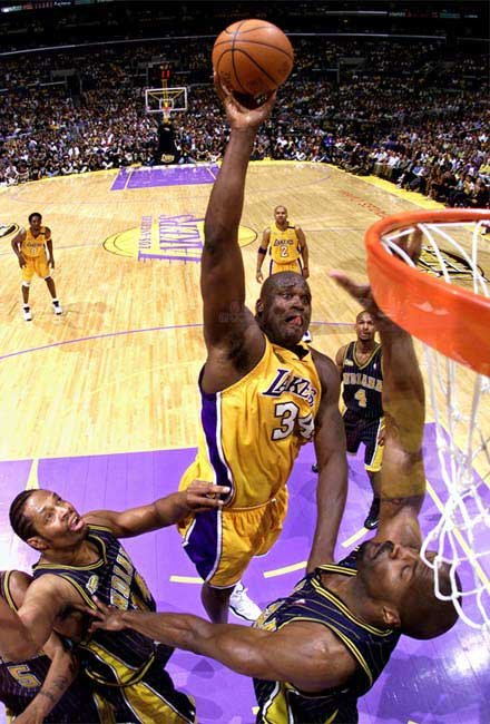 Shaquille Oneal Dunk 22