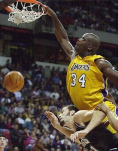 Shaquille Oneal Dunk 4 235×300