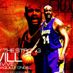 Shaquille Oneal Lakers Wallpaper 27 150×150