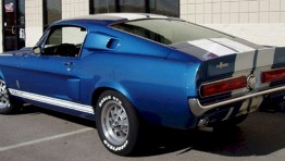 Shelby Mustang 1967 Blue 2
