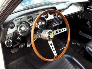 Shelby Mustang 1967 Interior