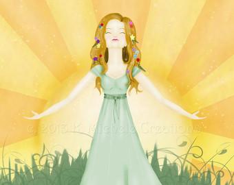 Spring Equinox Art