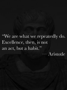 Aristotle Excellence Wallpaper