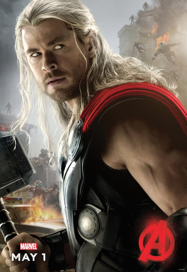 Thor – Avengers Age Of Ultron Poster