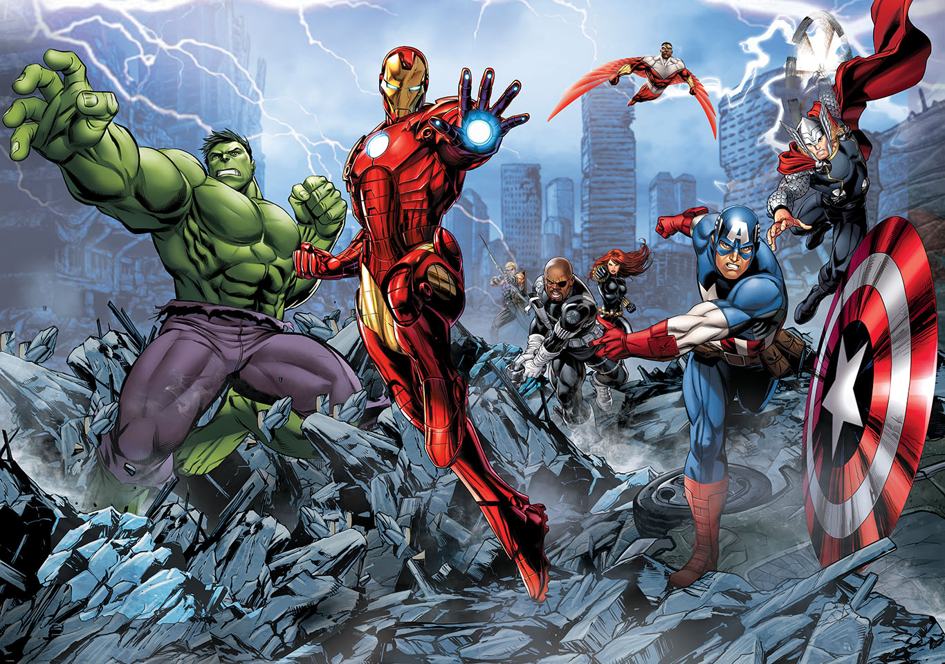Avengers Assemble Cartoon Quotes Quotesgram