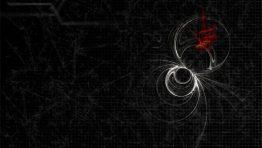 Black Widow Logo Wallpaper