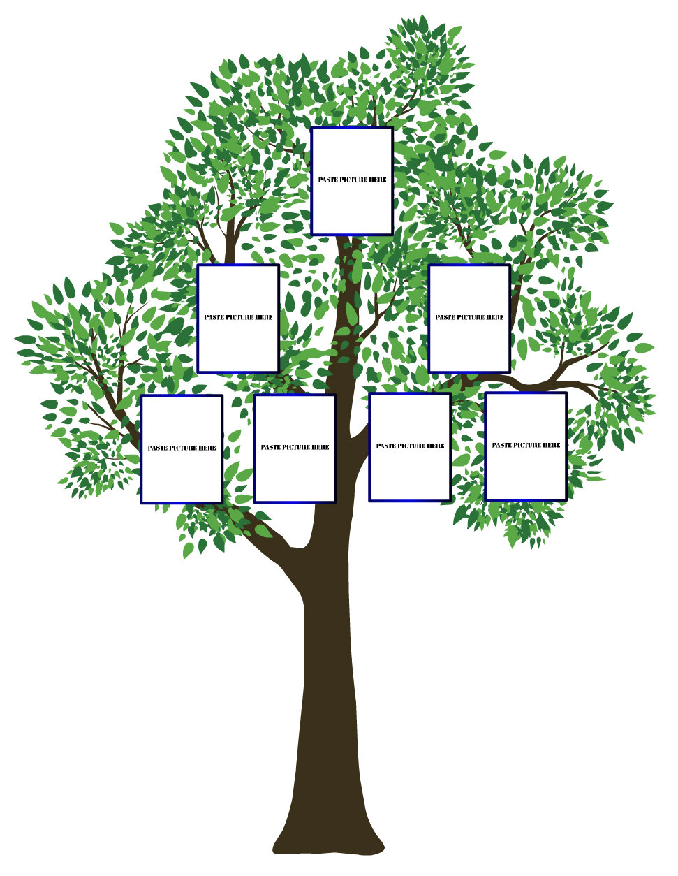 Blank Family Trees 1