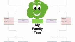 Blank Family Trees 2 300×232