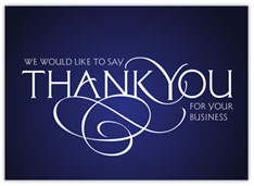 Corporate Thank You Card 1