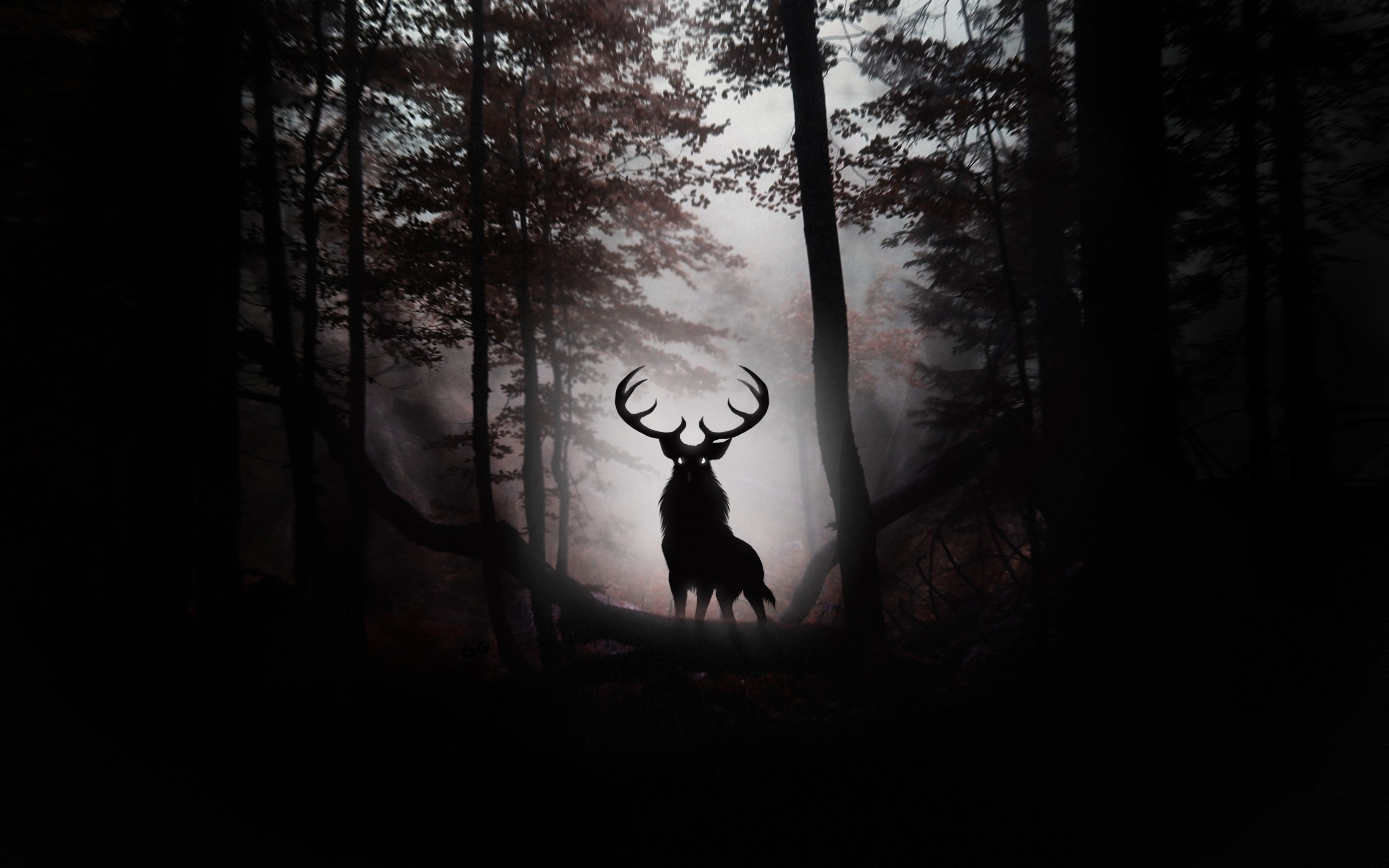Dark Forest Wolf | The...