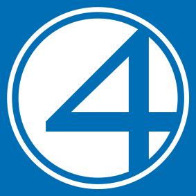 Fantastic Four Logo Vector 3