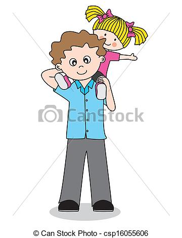 Father Daughter Clipart 1