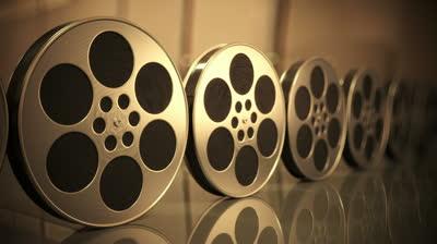 Film Roll Black Backgr...