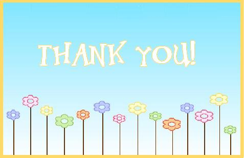 Free Thank You Cards 16
