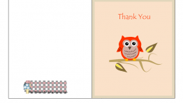Free Thank You Cards 5