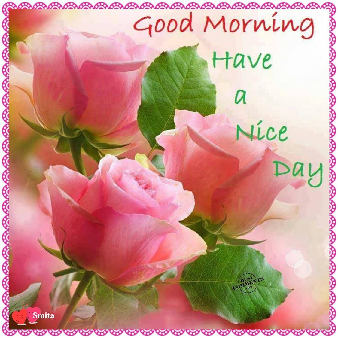 Good Morning Friends Have A Nice Day Images : Good morning my dear friends have a nice day