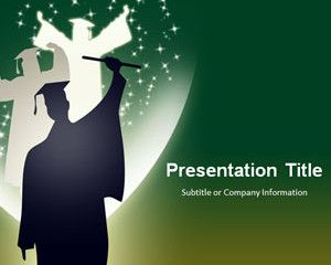 Graduation Background Green 3