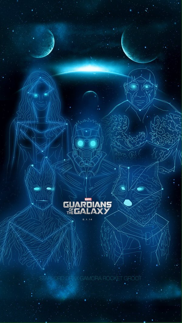 Guardians Of The Galaxy Iphone Wallpaper 31