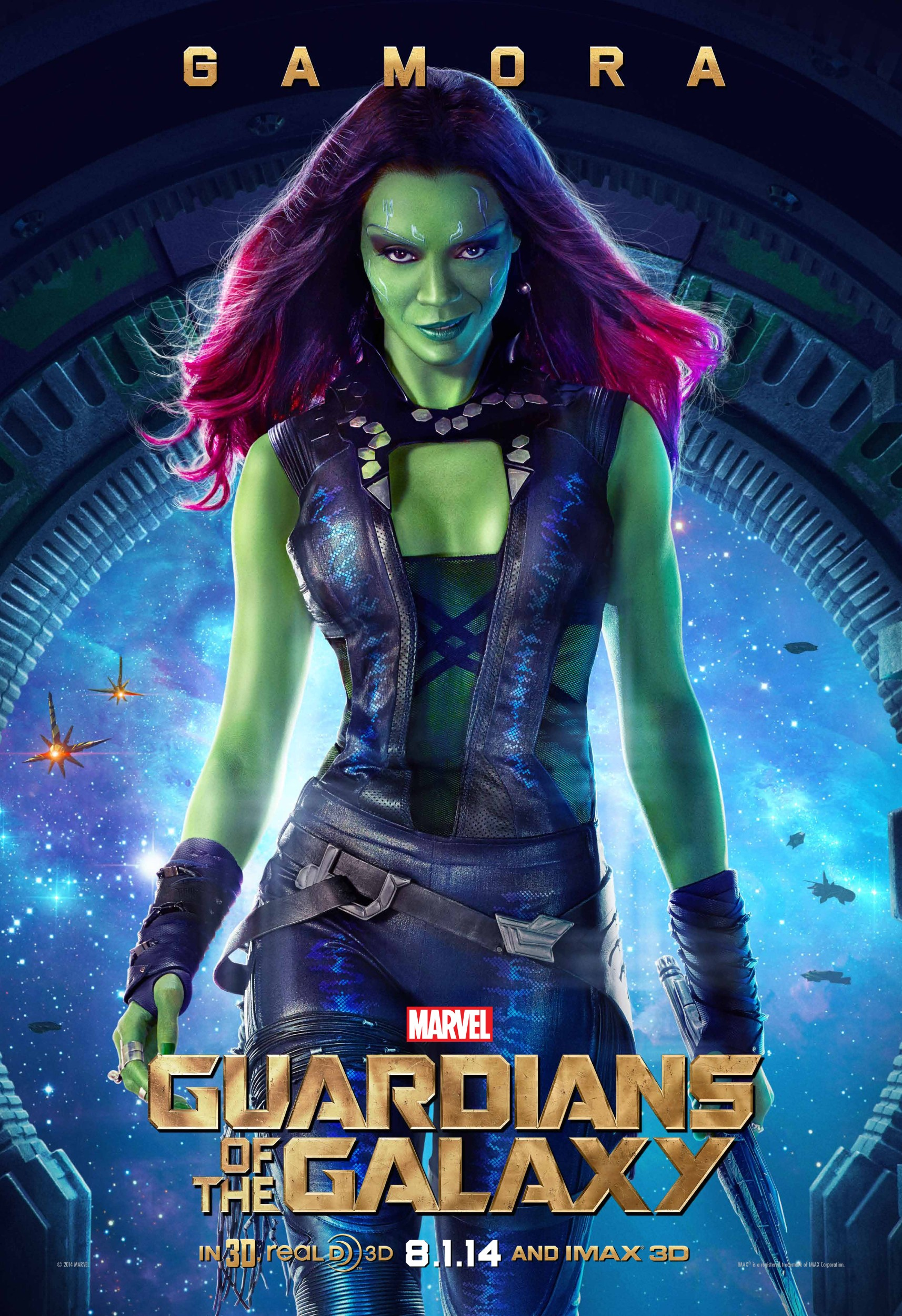 Gamora – Guardians Of The Galaxy