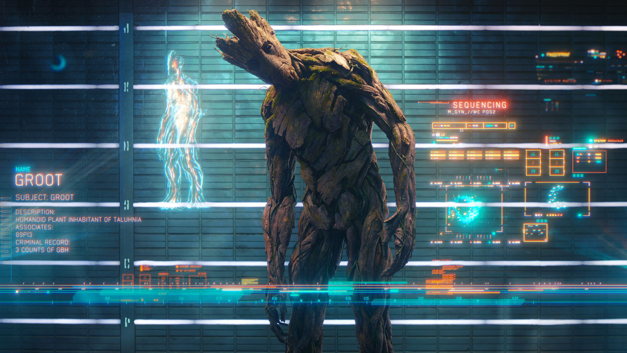 Guardians Of The Galaxy Wallpaper Groot 3