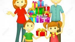 Happy Indian Family Clipart 1