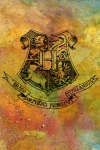 Hogwarts Crest IPhone Wallpaper 5 200×300