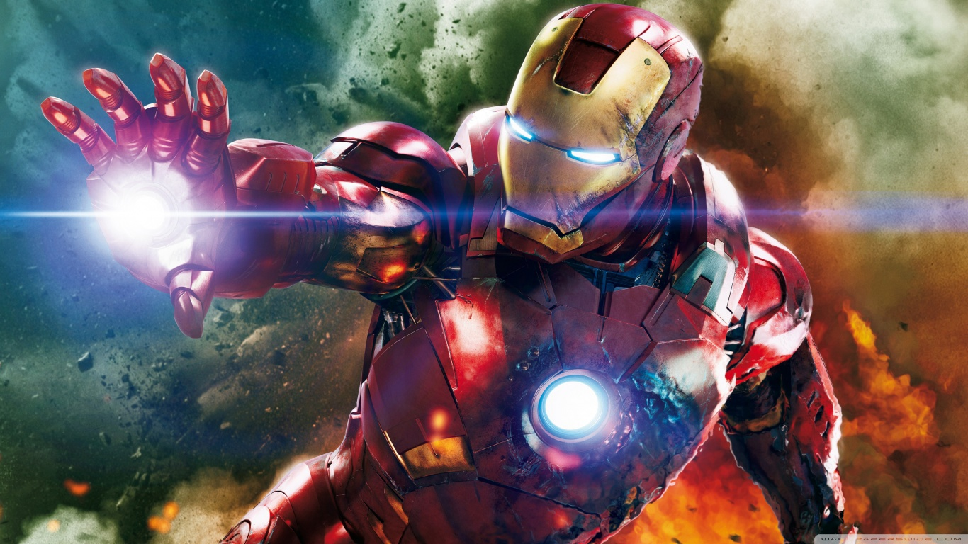 Iron Man 2 Wallpaper In Hd In 1366×768 2