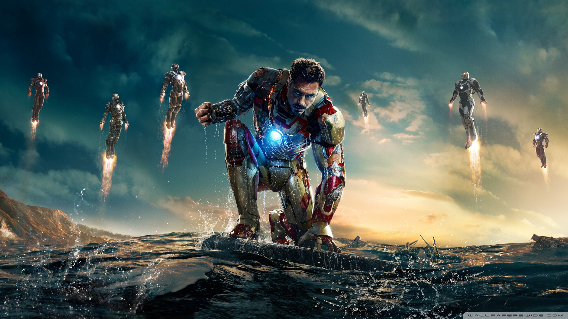 Iron Man 3 Wallpaper Hd 1920×1080 2