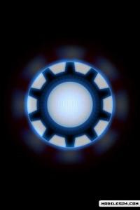 Arc Reactor Wallpaper Iron Man IPhone Wallpapers Jarvis Iphone