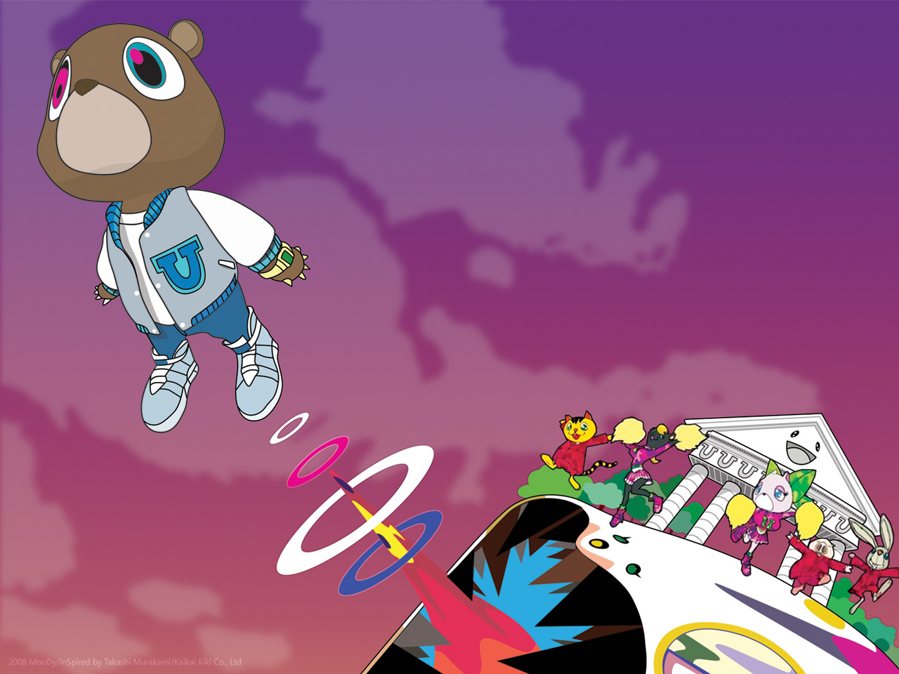 Kanye West Bear Wallpaper 2