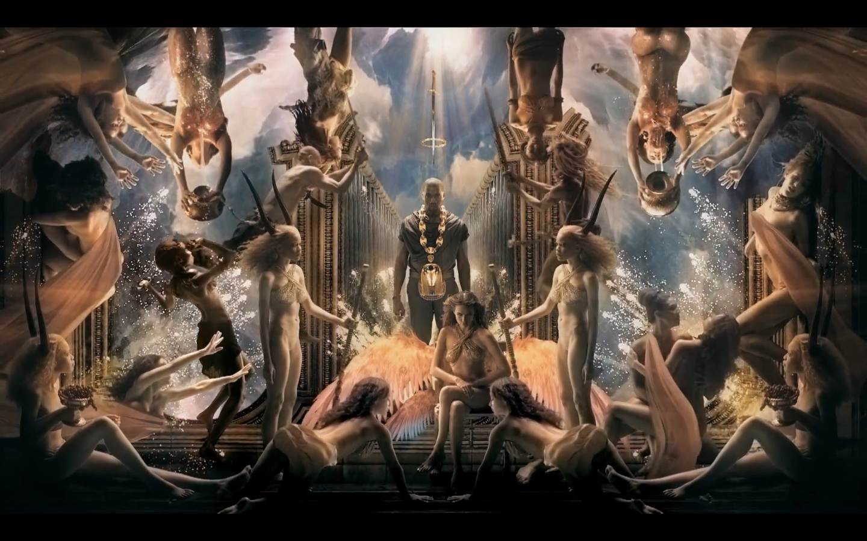 theartmad.com on reddit.com Kanye West Power Wallpaper