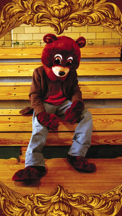 Kanye West Wallpaper IPhone  10 Kanye West Bear Iphone Wallpaper