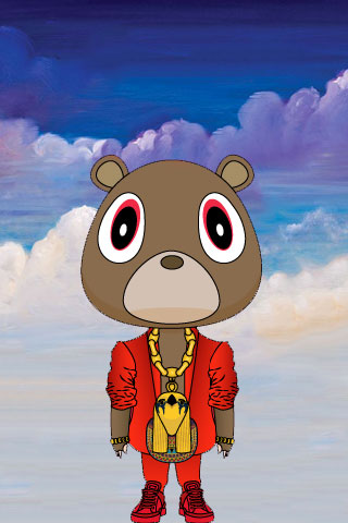 Kanye West Wallpaper IPhone  28 Kanye West Bear Iphone Wallpaper
